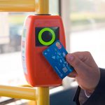 Petersburgers can pay by bus with a credit card