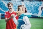In St. Petersburg presented the mascot for Euro 2020