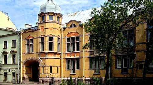 Little known mansions of St. Petersburg