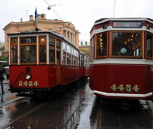 In St. Petersburg will launch new trams with Wi-Fi