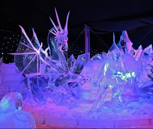 "Ice fantasy: the festival of ice sculptures ""ICE Fantasy"""