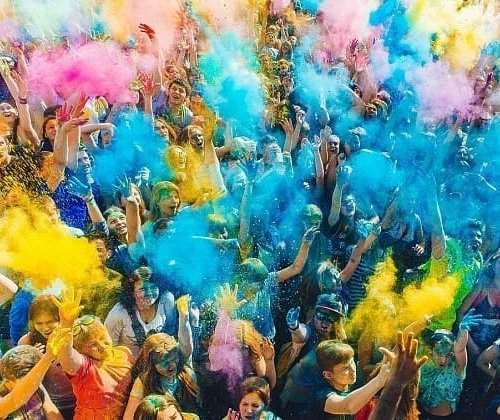 All-Russian festival of colors