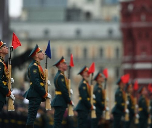 On the Internet launched a site about all the parades on May 9 in Russia