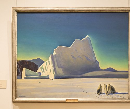 The Hermitage Museum opened a permanent exhibition of realist and romance of Rockwell Kent