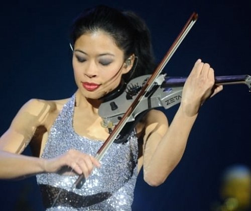 In December in St. Petersburg will take place the concert of Vanessa Mae